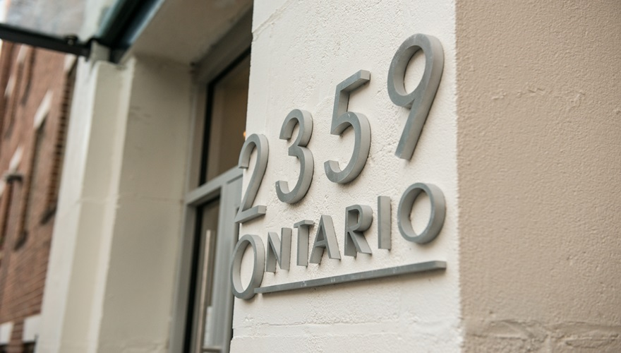 Ontario Front Numbers